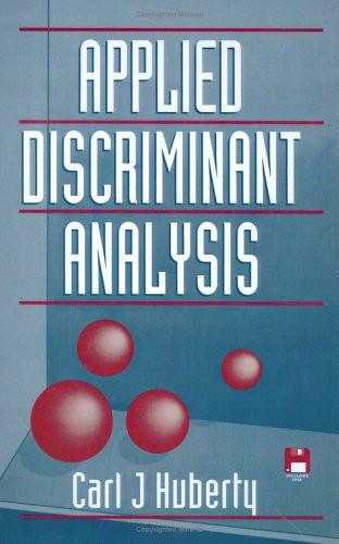 Applied Discriminant Analysis