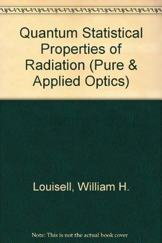 Quantum Statistical Properties of Radiation