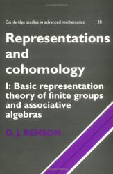 Representations and Cohomology Volume 1