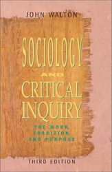 Sociology and Critical Inquiry