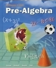 Mcdougal Littell Pre-Algebra - Teacher's Edition