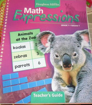 Math Expressions Volume 1 Grade 1