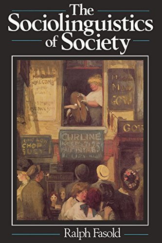 Sociolinguistics of Society