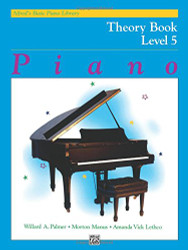 Alfred's Basic Piano Library Piano Course Theory Book Level 5