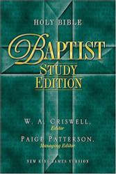 Holy Bible - Baptist Study Edition Celebrate Your Heritage