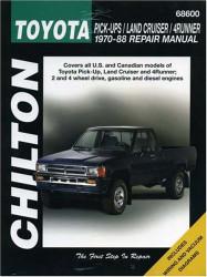 Toyota Pick-Ups Land Cruiser And 4-Runner 1970-88