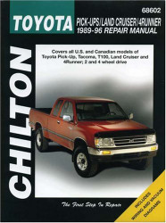 Toyota Pick-Ups Land Cruiser And 4 Runner 1989-96