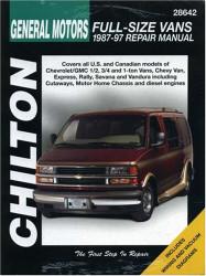 Chevrolet Vans 1987-97