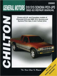 Chevrolet S10 S15 Sonoma And Pick-Ups 1982-93