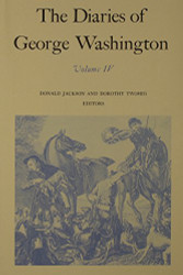 Diaries of George Washington Volume 1