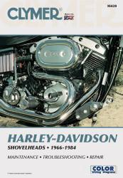 Clymer Harley-Davidson Shovelheads 1966-1984