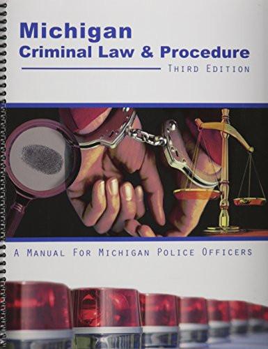 Michigan Criminal Law and Procedure