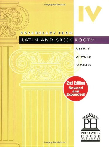 Vocabulary From Latin And Greek Roots