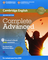 Complete Advanced Student's Book Pack