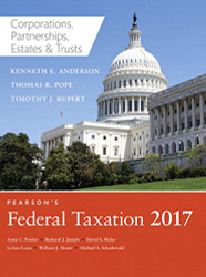Pearson's Federal Taxation of Corporations Partnerships Estates & Trusts