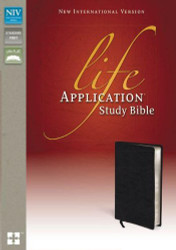 NIV Life Application Study Bible Black