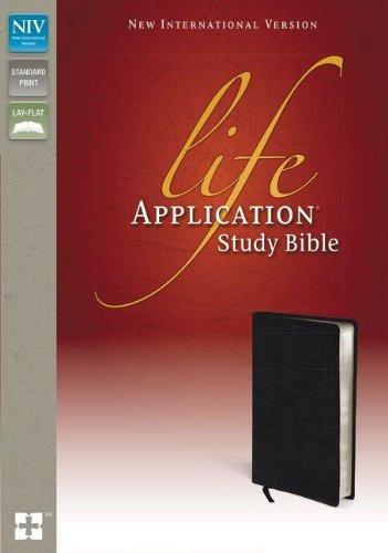NIV Life Application Study Bible Black