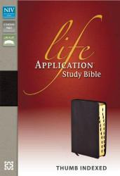 NIV Life Application Study Bible Burgundy