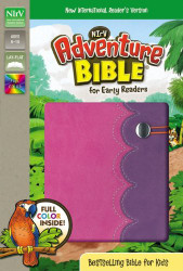 NIrV Adventure Bible for Early Readers Imitation Leather Pink/Purple Full