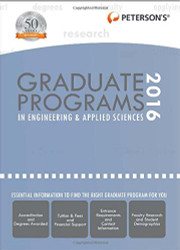 Graduate Programs In Engineering and Applied Sciences