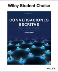 Conversaciones escritas Activities Manual / Workbook
