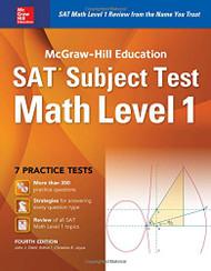 McGraw-Hill Education SAT Subject Test Math Level 1 4th Ed