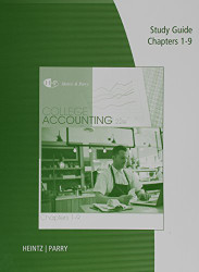 Study Guide & Working Papers for College Accounting Chapters 1- 9