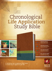 Chronological Life Application Study Bible NLT TuTone