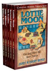 Christian Heroes Books 16-20 Gift Set