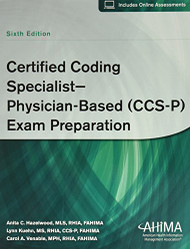 Certified Coding Specialist Physician Based CCS-P Exam Preparation