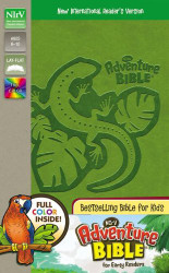 NIrV Adventure Bible for Early Readers Imitation Leather Green Full Color