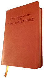 Proper Name Version of the King James Bible