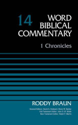 1 Chronicles Volume 14 (Word Biblical Commentary)