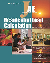 Residential Load Calculation Manual J