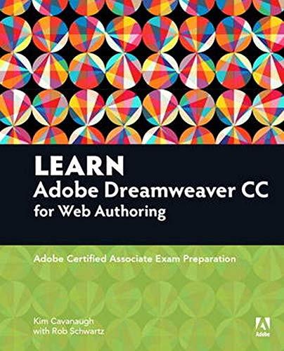 Learn Adobe Dreamweaver CC for Web Authoring