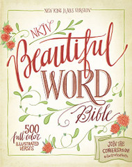 NKJV Beautiful Word Bible Red Letter Edition