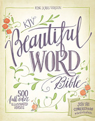 KJV Beautiful Word Bible Red Letter Edition