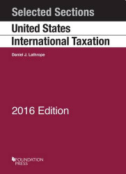 Selected Sections on United States International Taxation