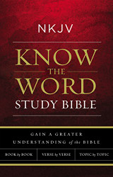 NKJV Know The Word Study Bible Red Letter Edition