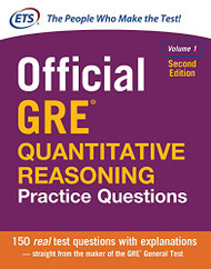 Official GRE Quantitative Reasoning Practice Questions Volume 1