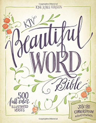 KJV Beautiful Word Bible Large Print Red Letter Edition