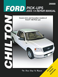 Chilton Ford Pick-Ups 2004-14 Repair Manual