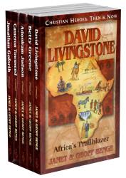 Christian Heroes Books 11-15 Gift Set