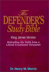 KJV - Defender's Study Bible by Dr Henry Morris Ph.D.