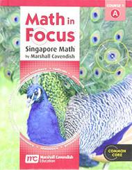 Math in Focus Singapore Math Grade 6 Volume A