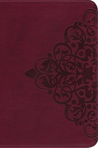 NIV Single-Column Bible Imitation Leather Burgundy
