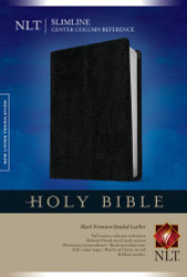 Slimline Center Column Reference Bible NLT