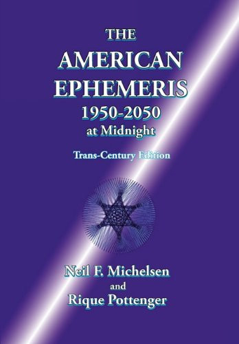 American Ephemeris 1950-2050 at Midnight