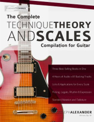 Complete Technique Theory and Scales Compilation for Guitar