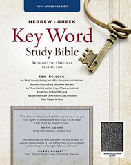 Hebrew-Greek Key Word Study Bible KJV Edition
